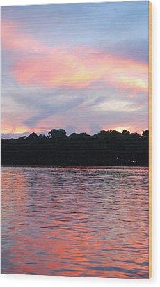 Costa Rica Sunset Wood Print