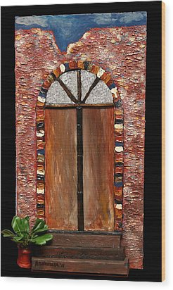 Costa Rican Doorway Wood Print