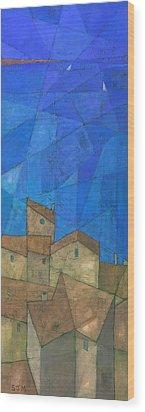 Cote D Azur II Wood Print by Steve Mitchell