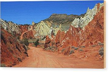 Cottonwood Canyon Road IIi Wood Print by Daniel Woodrum
