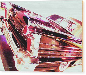 Could You Add Some More Chrome Wood Print by Don Struke