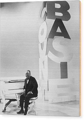 Count Basie (1904-1984) Wood Print by Granger