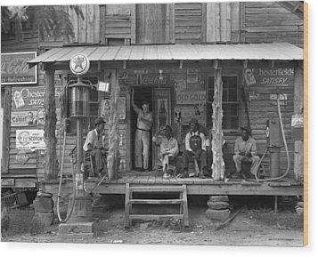 Country Store, 1939 Wood Print by Granger