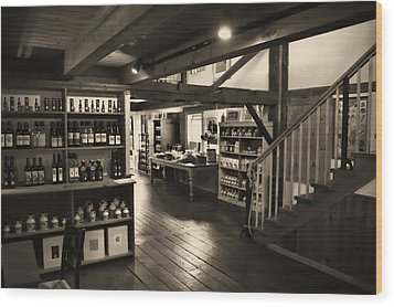 Wood Print featuring the photograph Country Store by Bill Howard