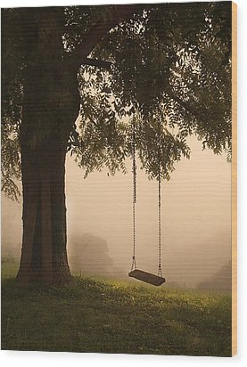 Country Swing Wood Print by William Schmid
