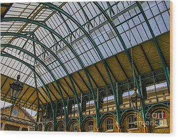 Covent Garden Market Wood Print by Patricia Hofmeester