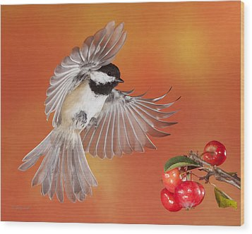 Crabapple Crabapple Before You Fall Who Is The Fairest Of Them All Wood Print by Gerry Sibell