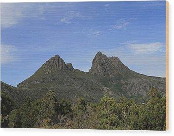 Cradle Mountain Tasmania All Profits Go To Hospice Of The Calumet Area Wood Print