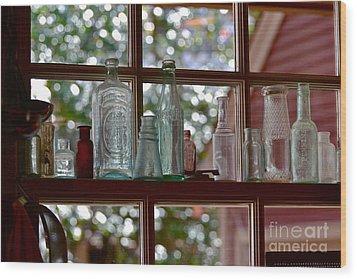 Crawford's Window Wood Print