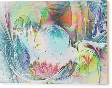 Creation Wood Print by Anastasiya Malakhova