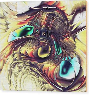 Creature Wood Print by Anastasiya Malakhova