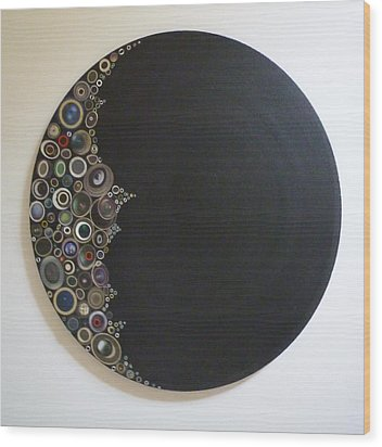 Crescent Moon Wood Print