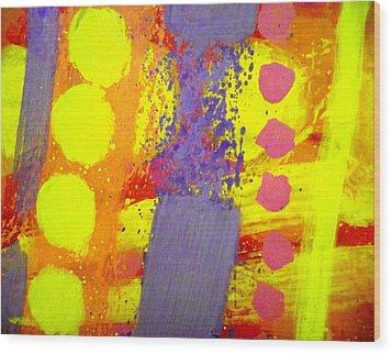 Crepuscule Wood Print by John  Nolan