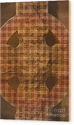 Criss-cross Wood Print by Floyd Menezes