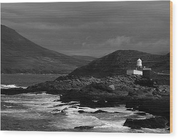 Cromwell Point Lighthouse Wood Print by Peter Skelton