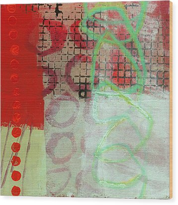 Crossroads 30 Wood Print by Jane Davies