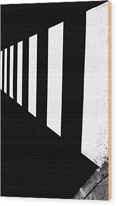 Crosswalk Wood Print by Bob Orsillo