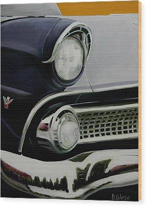 Crown Vic Wood Print