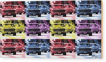 Cruise Pop 1 Wood Print by Gordon Dean II
