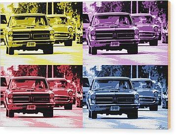 Cruise Pop 2 Wood Print by Gordon Dean II
