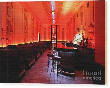 Cruise Room Oxford Hotel Denver Wood Print