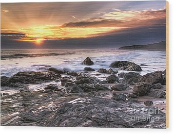 Crystal Cove State Park Wood Print