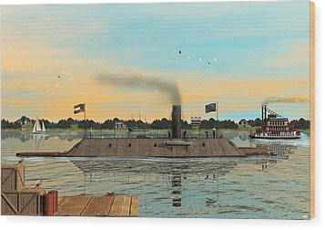 Css Virginia Wood Print by Walter Colvin