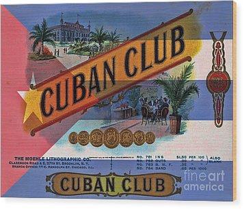 Cuba Vintage Wood Print