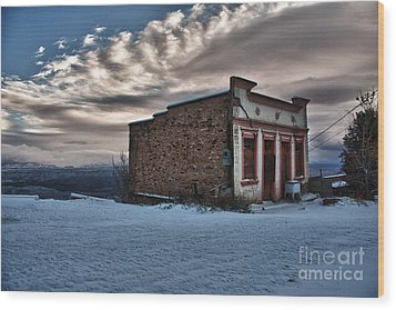 Cuban Queen Bordello In Jerome Arizona Wood Print