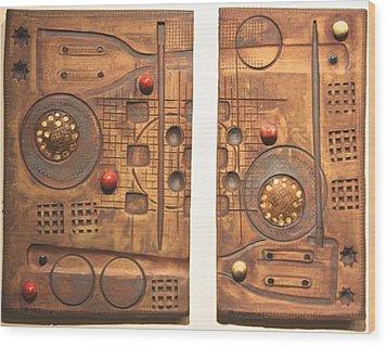 Culinary Arts Wood Print by Dan Earle
