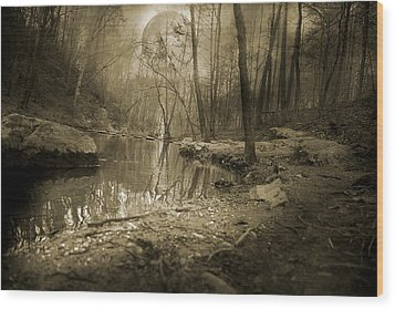 Culmination Wood Print by Betsy Knapp