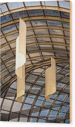 Cultural Sociology Wood Print by Charles Dobbs