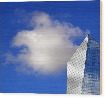 Cumulus And Cira Wood Print by Lisa Phillips