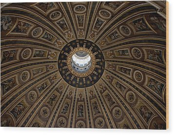 Cupola Saint Petri Gloriae Wood Print by Ivete Basso Photography