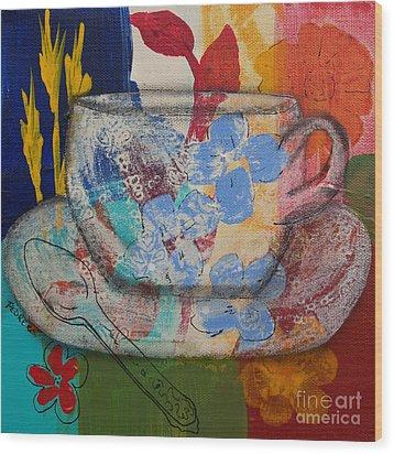 Cuppa Luv Wood Print