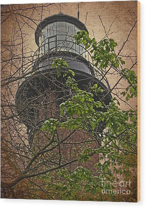 Currituck Light House Wood Print