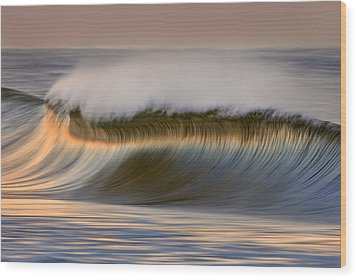 Wood Print featuring the photograph Curved Crest C6j9295 by David Orias