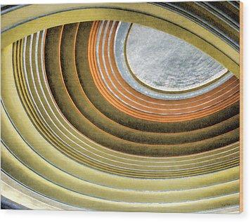 Curving Ceiling Wood Print