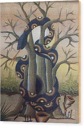 Custom Wood Print by Fania Simon