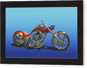 Wood Print featuring the photograph Customized Perfection by Keith Hawley