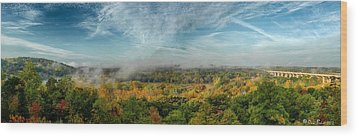 Cuyahoga Valley Panarama Wood Print