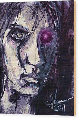 Cyborg Wood Print by Jim Vance
