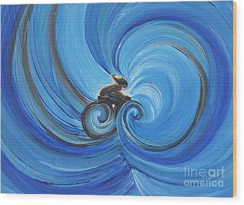 Cycle By Jrr Wood Print by First Star Art