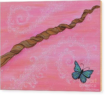 Cypress Wand Wood Print