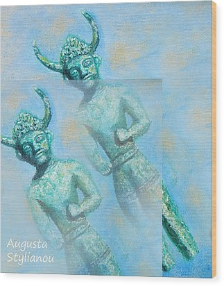 Cyprus Gods Of Trade. Wood Print by Augusta Stylianou