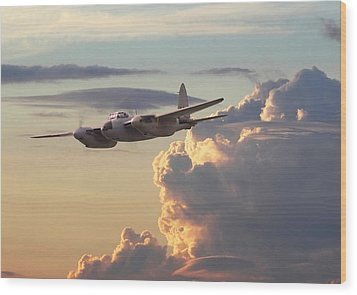 D  H Mosquito - Pathfinder Wood Print