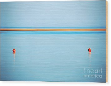 Dahab - Red Sea Wood Print by Hannes Cmarits