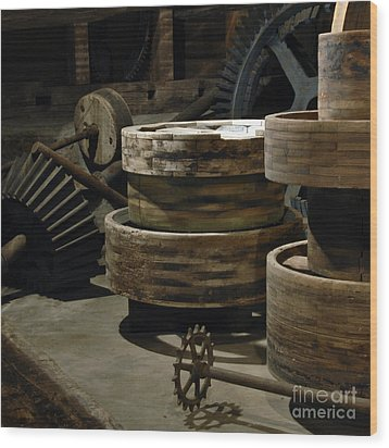 Wood Print featuring the photograph Daily Bread by Lee Craig