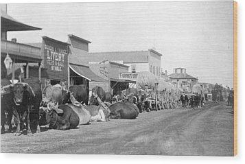 Wood Print featuring the photograph Dakota Territory, C1888 by Granger