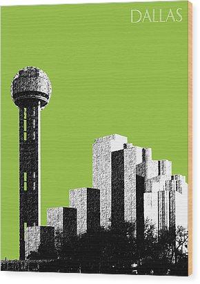 Dallas Reunion Tower Wood Print by DB Artist